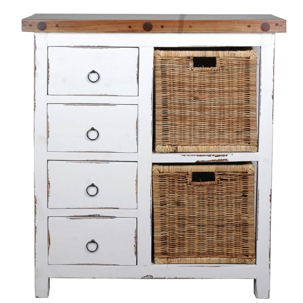 Whitewashed Cabinets: Rosecliff Heights Wellfleet Whitewashed Accent Cabinet