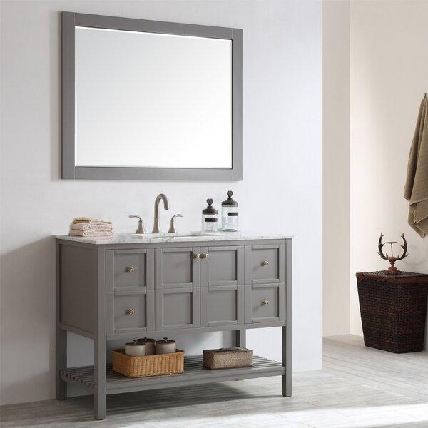 Beachcrest Home Caldwell 48 Quot Single Bathroom Vanity Set