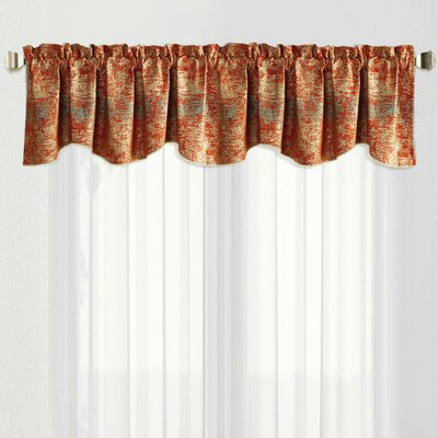 Curtain Orange Valances Amp Kitchen Curtains You Ll Love In