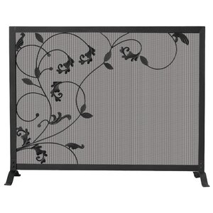 Single Panel Wrought Iron Screen