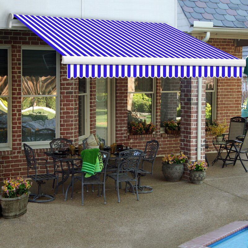 LX-Maui Retractable Patio Awning & Awntech LX-Maui Retractable Patio Awning u0026 Reviews | Wayfair