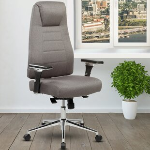 Henson Height Adjustable Executive High Back Home Office Chair With Wheels