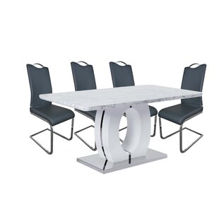 Figueroa 5 Piece Dining Set