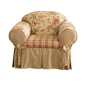 Lexington Club Box Cushion Armchair Slipcover by Sure Fit