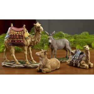 Real Life Nativity Cru00e8che Figurines