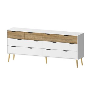Zephyr 8 Drawer Dresser