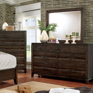 Michaelson Transitional 7 Drawer Dresser with Mirror by Gracie Oaks