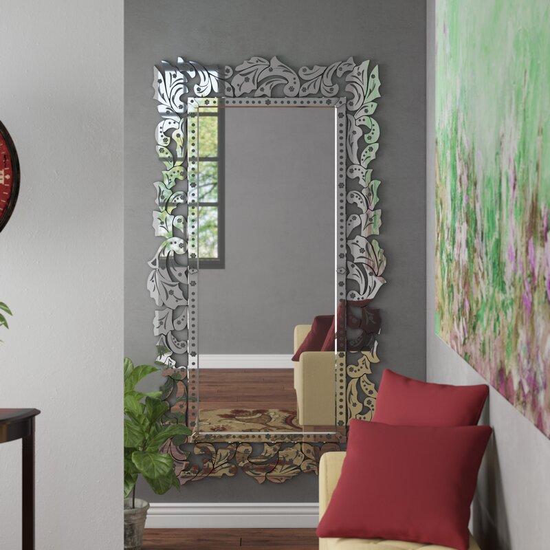 Astoria Grand Dirleton Venetian Full Length Mirror Reviews Wayfair Ca