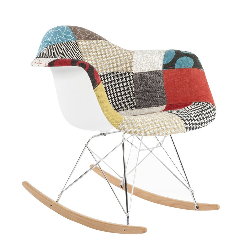 the mid century rocking chair