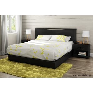 King Storage Platform Bed by South Shore