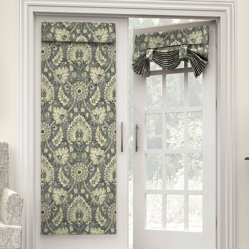 French Door Panels : Rod pocket curtains for french doors curtain menzilperde
