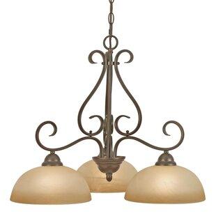 Downlight chandelier wayfair foxburg 3 light shaded chandelier aloadofball Choice Image