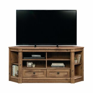 orviston corner tv stand for tvs up to 60 - Corner Tv Stands Wooden
