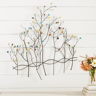 Contemporary Forest Metal Wall Décor