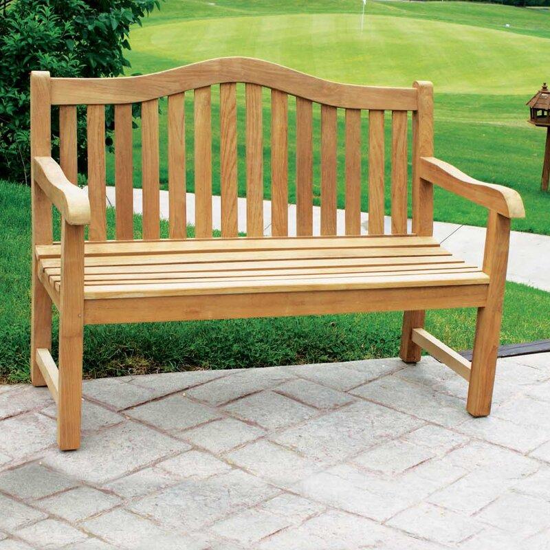 Geneva Teak Garden Bench
