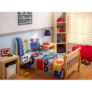 Choo Choo 4 Piece Toddler Bedding Set