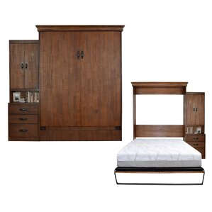 Saw Mill Queen Storage Murphy Bed by Room and Loft