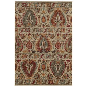 Tommy Bahama Voyage Beige / Multi Abstract Rug