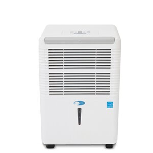Energy Star 30 Pint Portable Dehumidifier with Casters