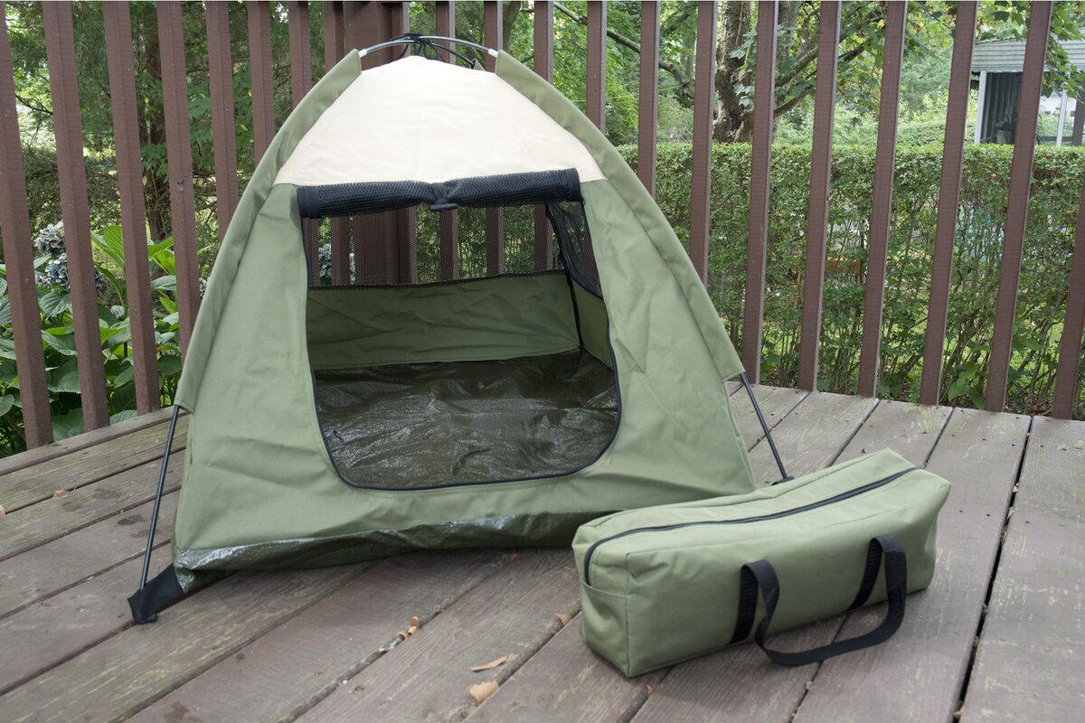 Claude Cozy C& Pet Tent House & Tucker Murphy Pet Claude Cozy Camp Pet Tent House u0026 Reviews | Wayfair
