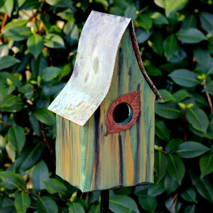 Shady Shed 12 in x 6 in x 6 in Birdhouse