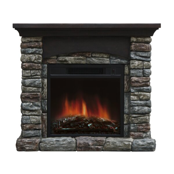 stone fireplaces rustic style arch fireplace mantel packages youll love wayfair