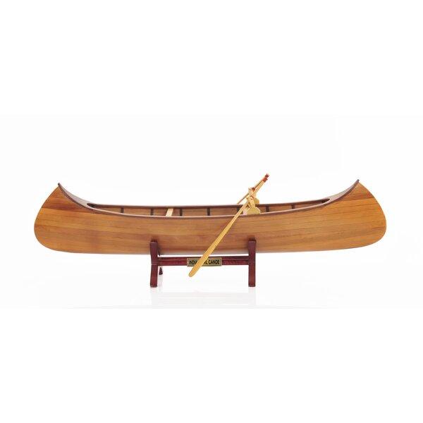 Loon Peak Brown Wood Indian Girl Model Boat Reviews