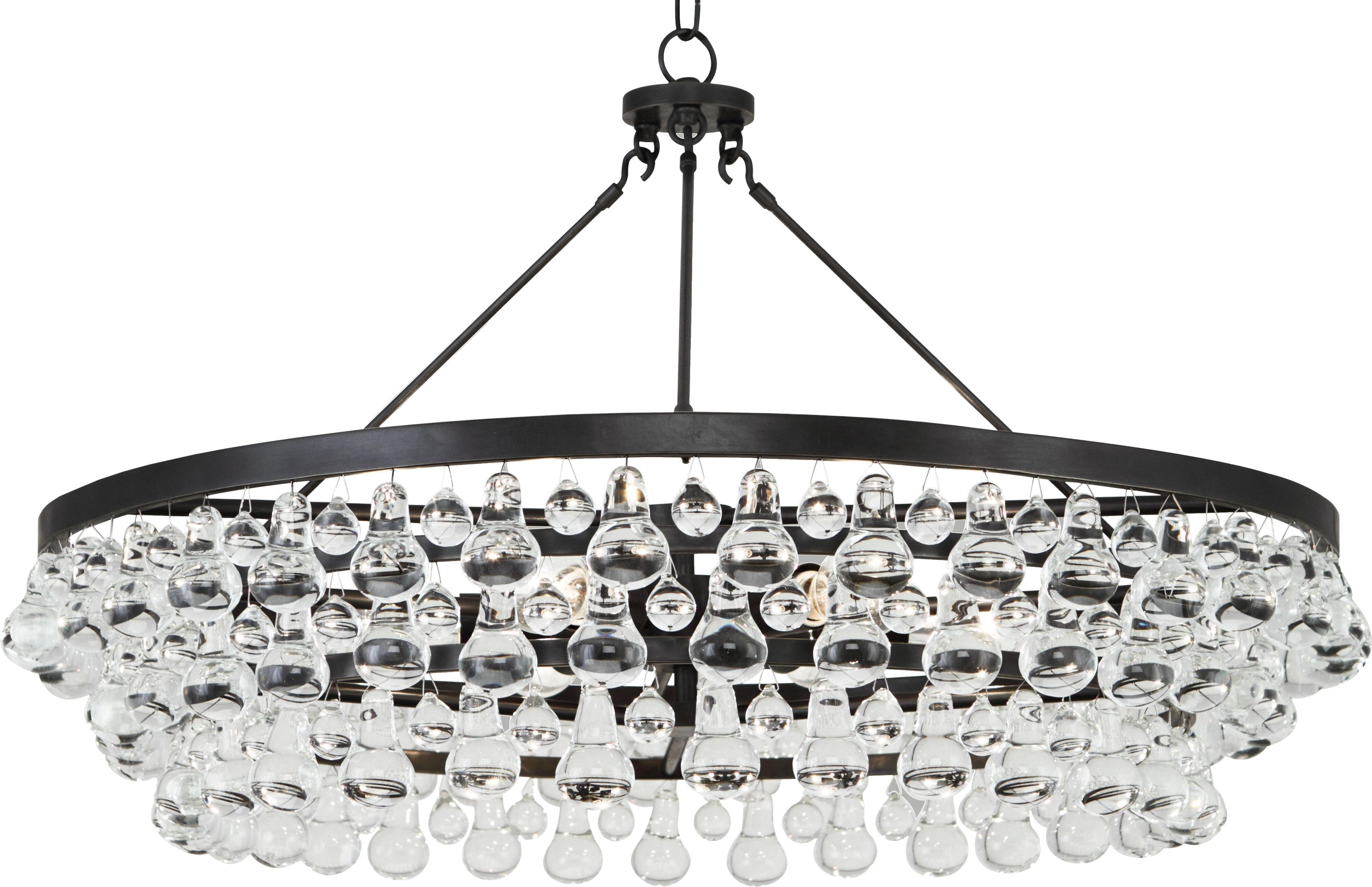 Robert abbey bling 6 light novelty chandelier reviews wayfair aloadofball Image collections