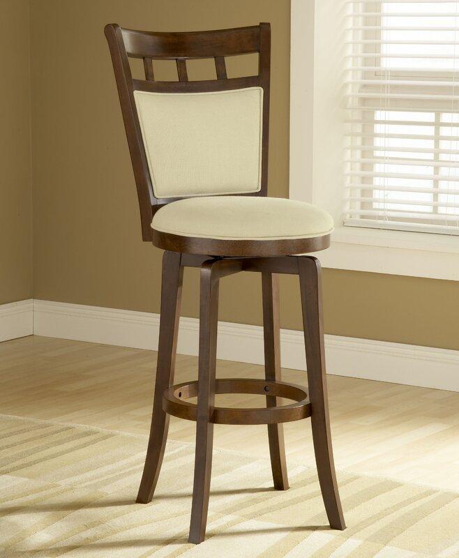 Red barrel studio linden quot swivel bar stool reviews