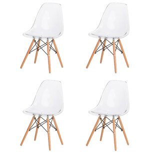 Paula Modern Retro Dining Chair (Set of 4)