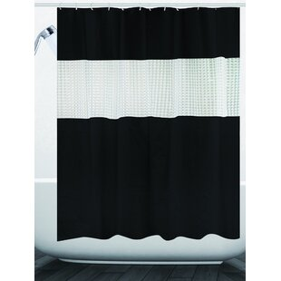 Black Vinyl Shower Curtains Youll Love