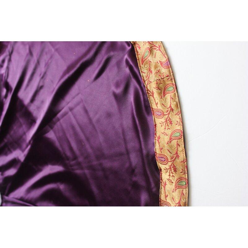 handmade sari border christmas tree skirt