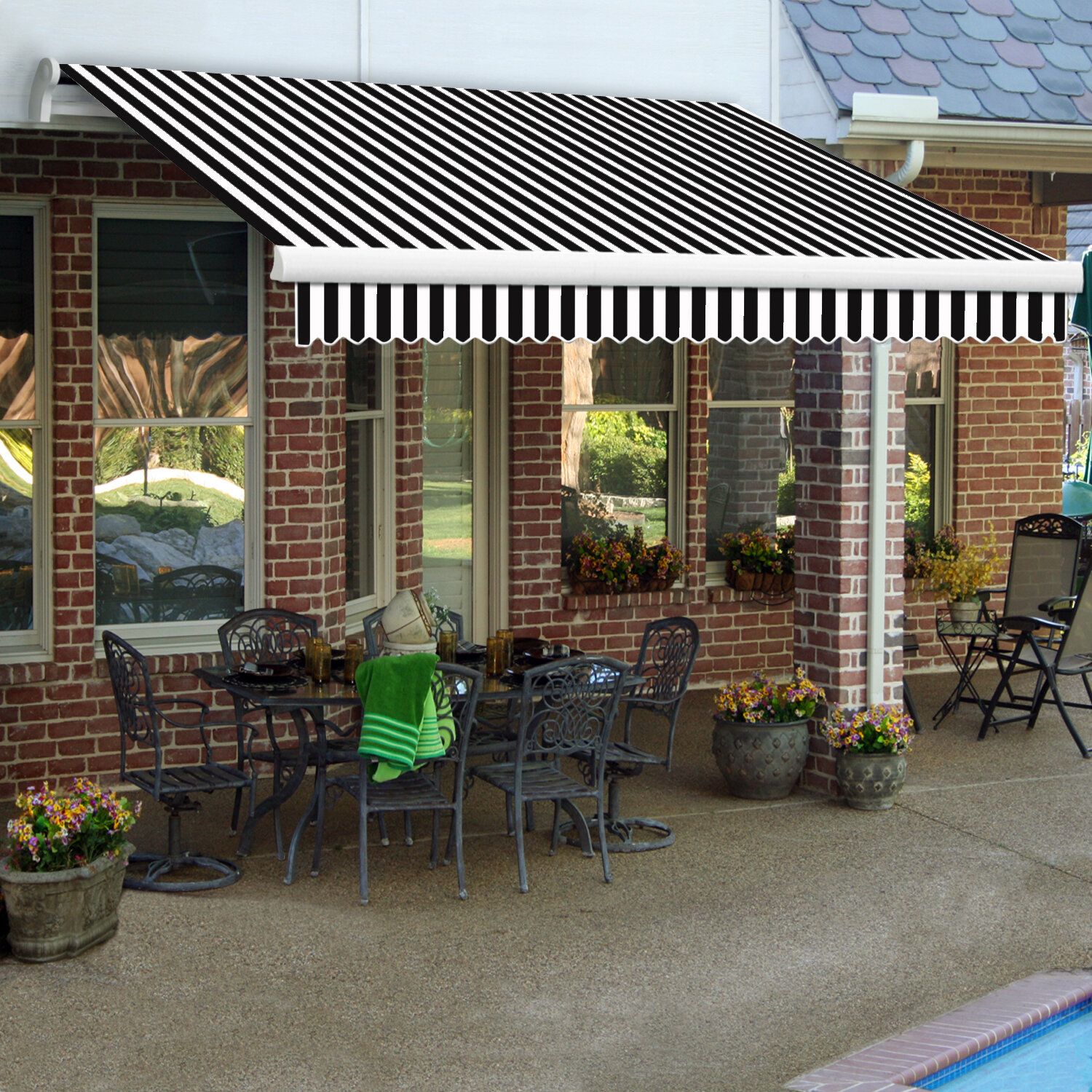 awnings awning sunsetter img hearthworks gallery
