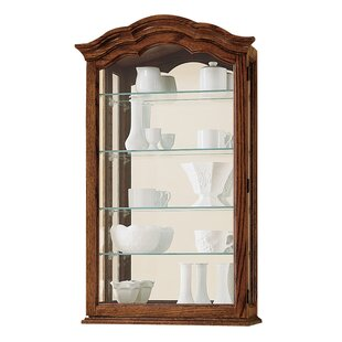 Brammer Wall-Mounted Curio Cabinet