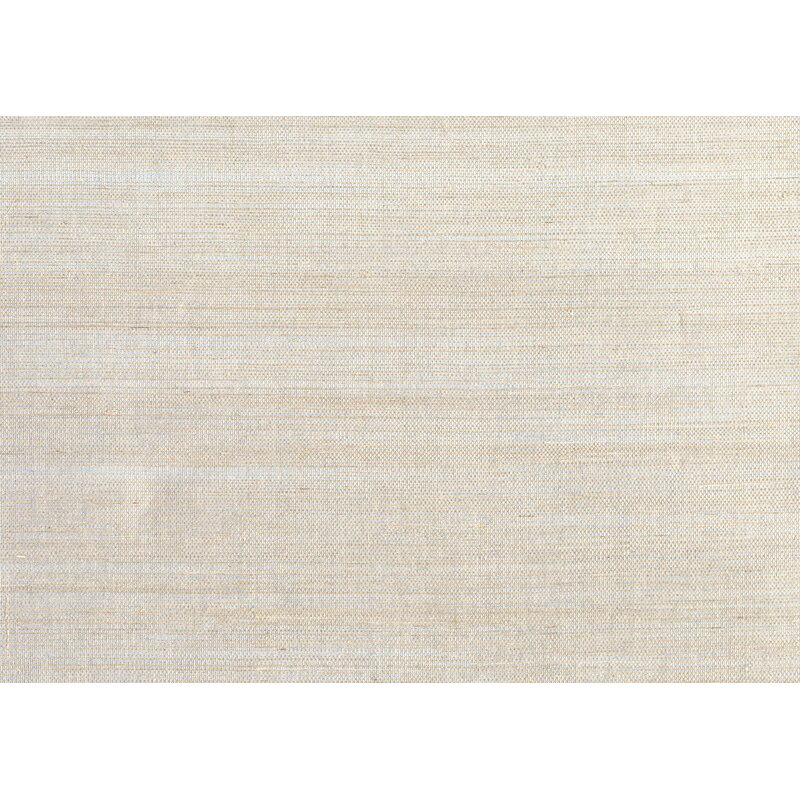 """17 Stories Cosmo 24 L x 36"""" W Plain Sisals Wallpaper Roll  Color: Taupe/Silver"""