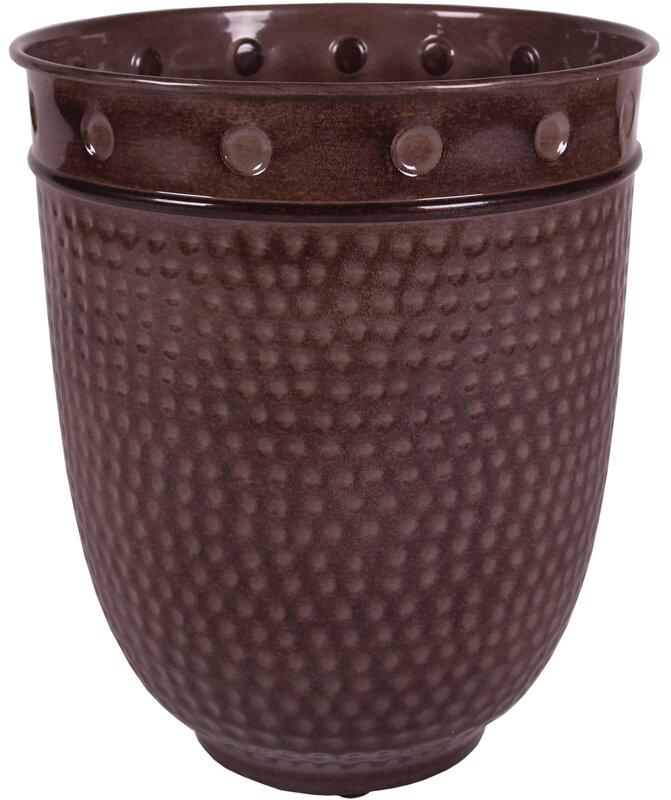 Robert Allen Home And Garden Stockbridge Venti Ironstone Pot Planter Reviews Wayfair