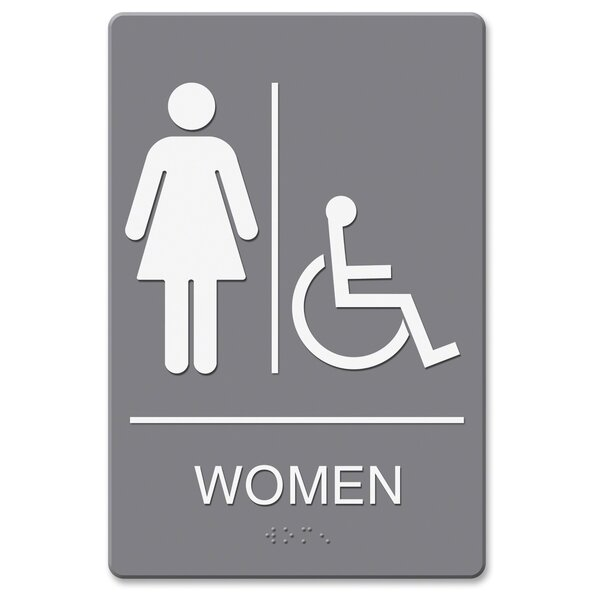 Restroom Signs Youll Love Wayfair - Professional bathroom signs