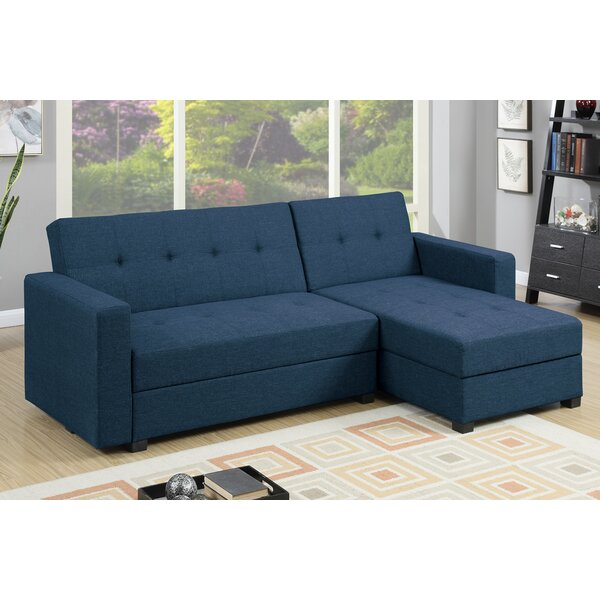 reversible cali lounge sofa charcoal burbank chaise sectional suede grey urban products laf with waffle