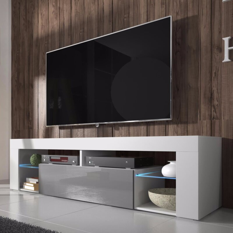Led Tv Stand Designs Chennai : Selsey living hugo tv stand for tvs up to quot with led