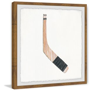 Francesca Nora Hockey Stick Framed Art by Viv   Rae