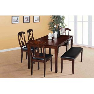 Boswell Extendable Solid Wood Dining Table