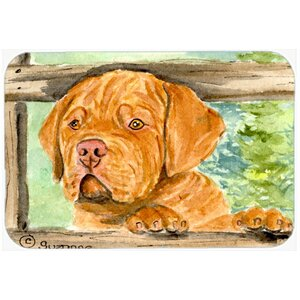 Dogue De Bordeaux Kitchen/Bath Mat