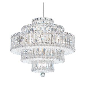 Plaza 21-Light Crystal Chandelier