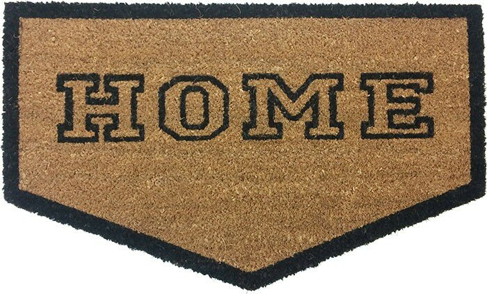Charmant Home Plate Shaped Doormat