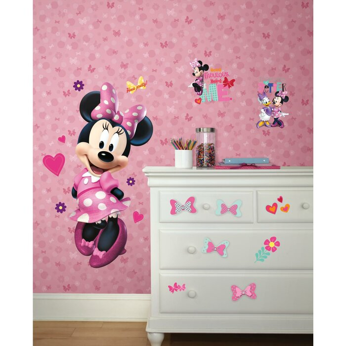 Disney Kids III Minnie Mouse Bows And Dots 33 X 205 Wallpaper Roll