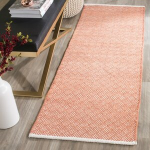 Redbrook Orange Area Rug