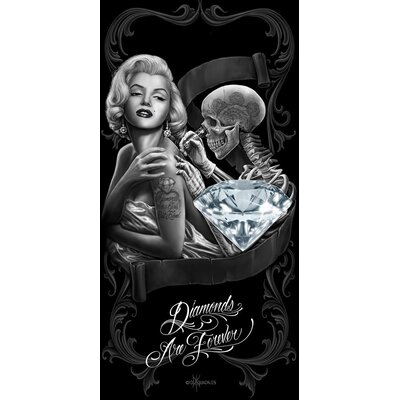 Royal Plush Diamonds Are Forever Beach Towel Ben And Jonah