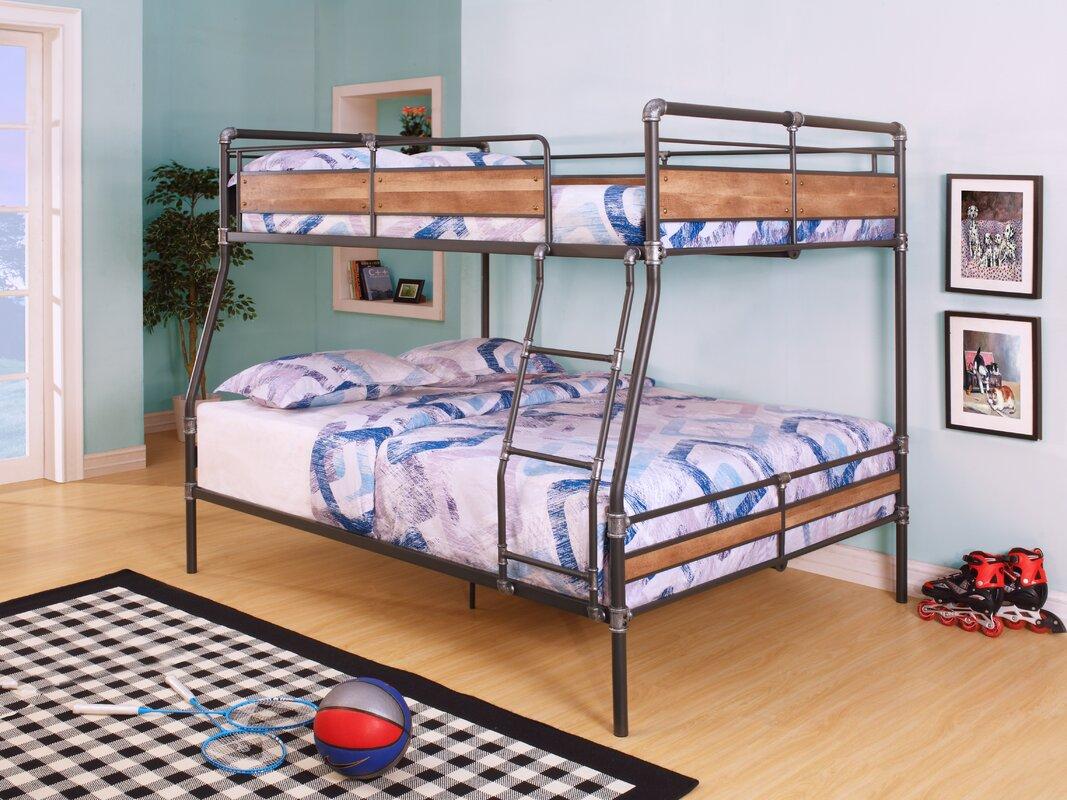 Acme furniture brantley ii full xl over queen bunk bed - Wayfair childrens bedroom furniture ...