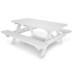Charmant White Picnic Tables Youu0027ll Love   Wayfair