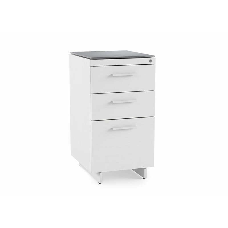 centro 3-drawer file cabinet | allmodern 3 drawer file cabinet